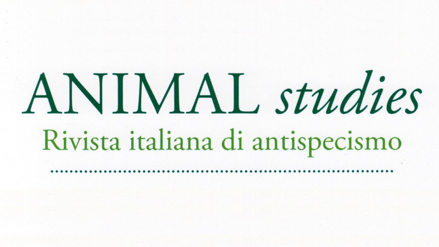 Il logo di Animal studies